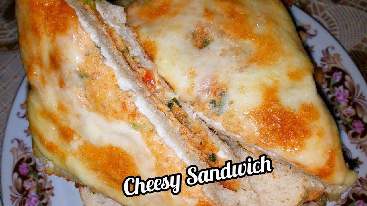 Cheese Omelette Sandwich | Easy & Quick Breakfast Recipe ...