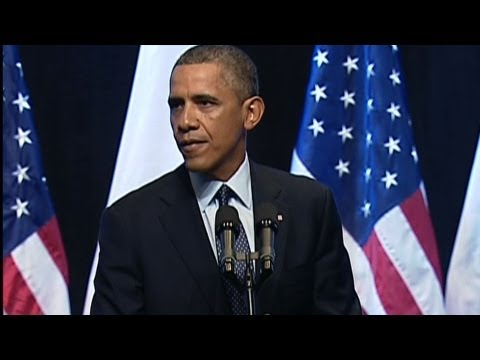 Watch President Obama's Full Speech in Jerusalem