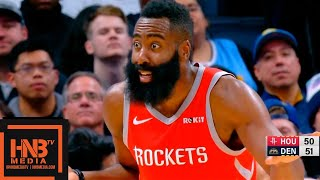 Houston Rockets vs Denver Nuggets 1st Half Highlights | 11.13.2018, NBA Season