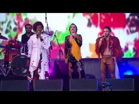 Johnny Hooker, Liniker e Almério - Nao Recomendado (Ao vivo Rock in Rio 2017)