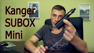 Обзор Kanger SUBOX Mini Starter kit(, 2015-07-15T13:08:48.000Z)