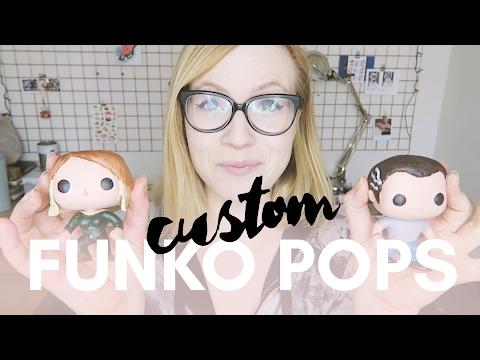 How to make CUSTOM FUNKO POP FIGURES!