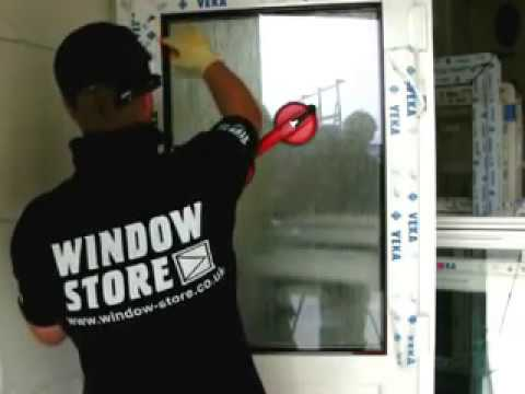 & Removing and replacing internal beads on a upvc door - YouTube
