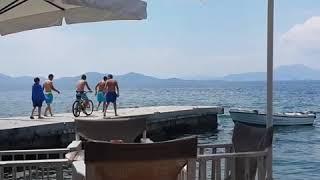 Велосипед! В море!