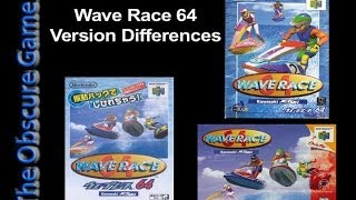 The Obscure Gamer: Wave Race 64 Version Differences
