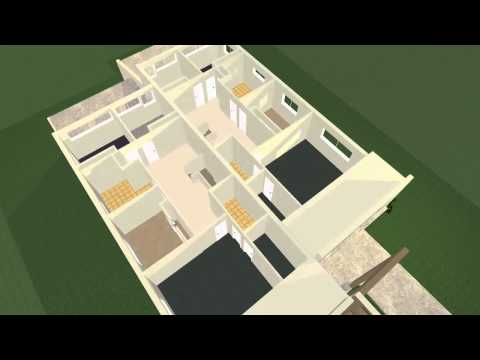 2d Duplex Floor Plans Converted To 3d Using