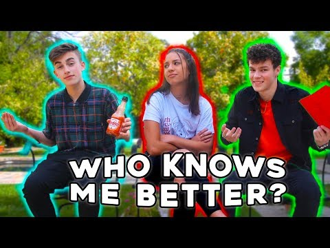 Who Knows Me Better? || With Johnny Orlando & Hayden Summerall