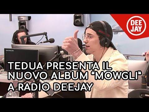 """Tedua presenta il nuovo album """"Mowgli. Il disco della Giungla"""" da Albertino"""