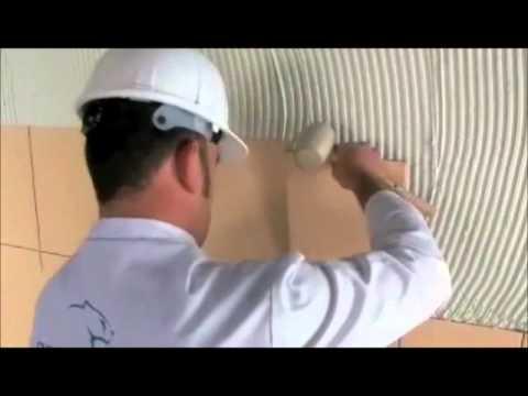 Colocacion azulejo capa fina y youtube - Como aplicar microcemento sobre azulejos ...