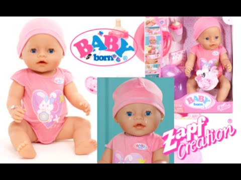 Baby Born Interactive Crying And Eating Doll From Target