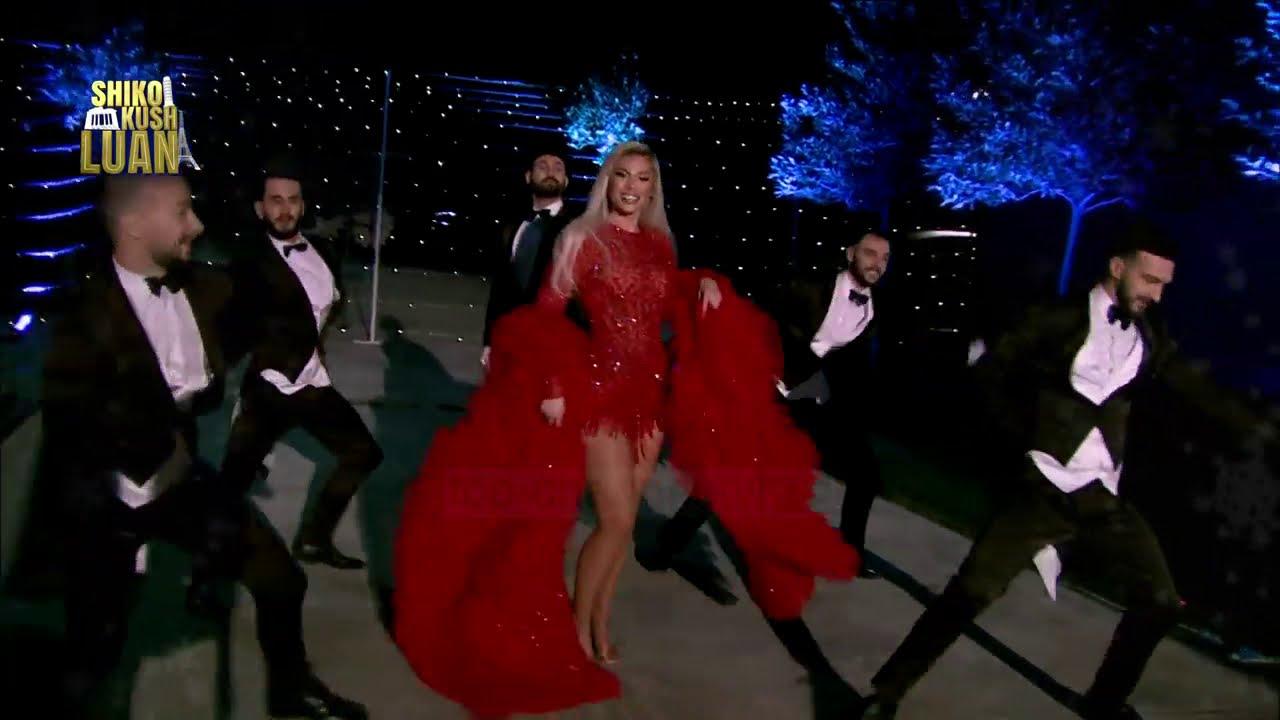 Luana Vjollca - Feliz Navidad performance, Shiko kush LUAN 3, 1 Janar 2020