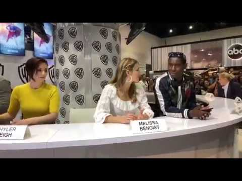 Chyler Leigh and cast signing autographs at SDCC  July 21st 2018