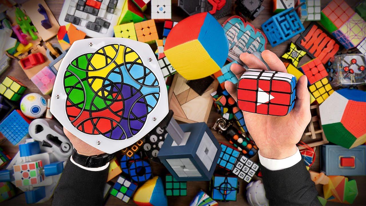 МОЯ КОЛЛЕКЦИЯ ГОЛОВОЛОМОК 2020 | Уникальные кубики Рубика и невозможные головоломки СЕКРЕТЫ РАСКРЫТЫ