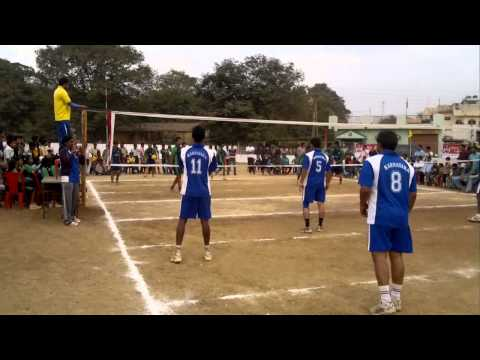 karnataka vs chattisagarh sr national throwball