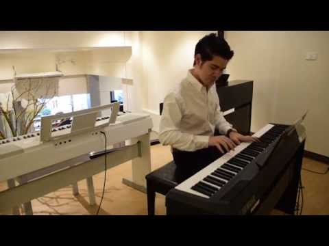 Kuljaesol : รีวิว เปียโนไฟฟ้า YAMAHA P115 หัวใจเราผูกกัน piano cover