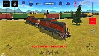 Central Yard Chaos Train and Rail Yard Simulator Android Gameplay