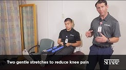 2 Gentle Stretches to Reduce Knee Pain