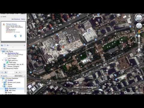 ¿Cómo generar archivos kmz en Google Earth? - Rentadrone.cl