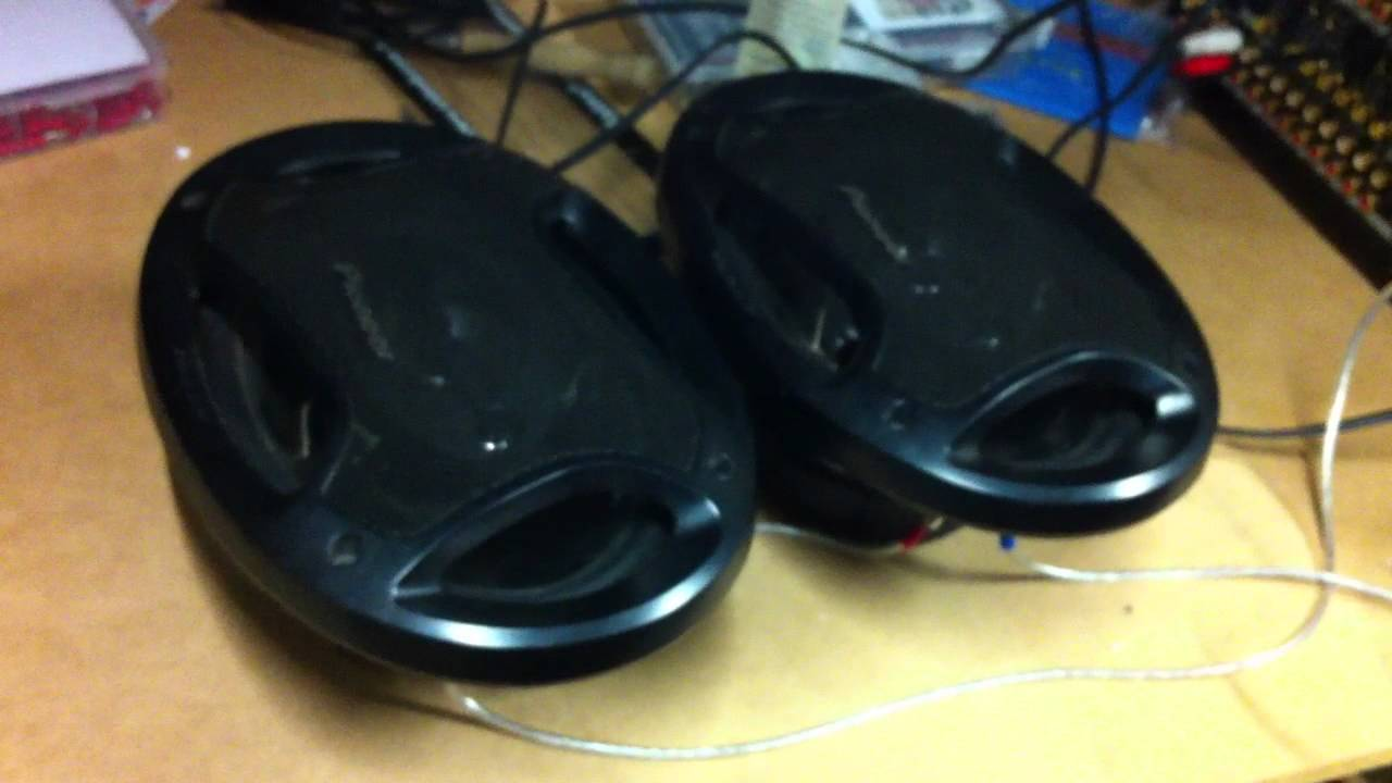 Car Speakers Wired To A Home Theatre Amp Youtube Wiring Theater