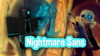 Roblox Script Showcase Episode#1171/Nightmare Sans