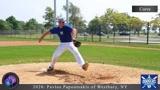 Pavlos Papoutsakis College Baseball Showcase Video