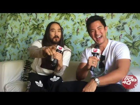 Steve Aoki chats to Dom Lau on Asia Pop 40