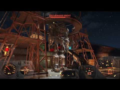 Fallout4 BOOM goes the airship: airship down