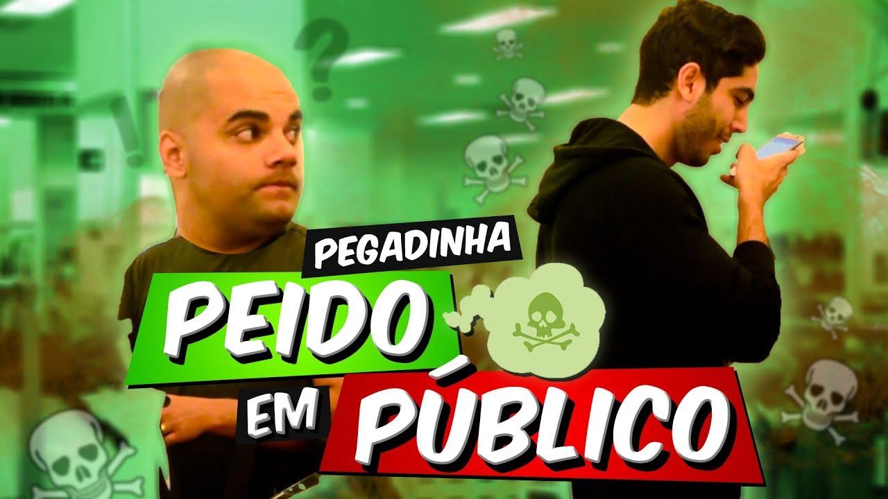 PEIDO EM PÚBLICO - JONATHAN NEMER (pegadinha)