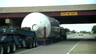 Trans United brewery tank move for Lagunitas from The Port of Indiana to Chicago
