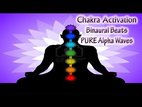 *FULL* CHAKRA HEALING CLEANSING MEDITATION  (Root to Crown activation) | Alpha Binaural Beats