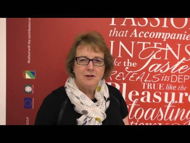Sarah Jane Evans, presidente Institute of Masters of Wine, sui vini d'Abruzzo