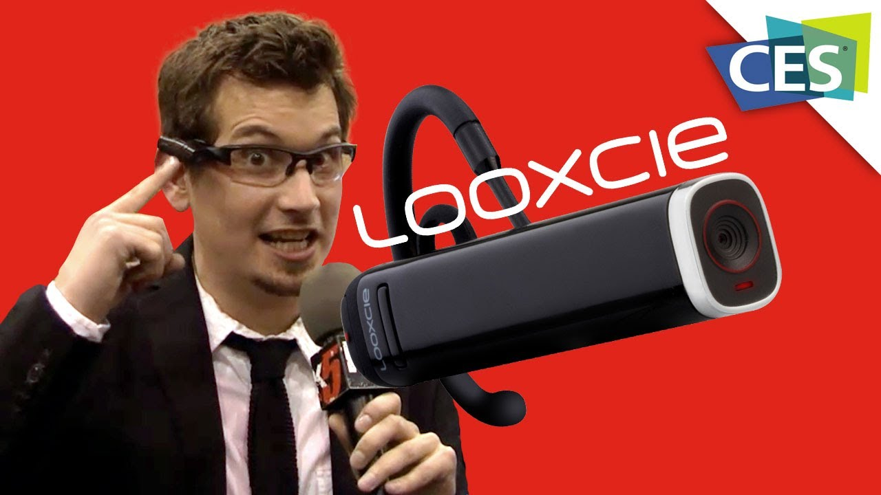 Looxcie Launches a WiFi Enabled HD POV Camera - CES 2013 - YouTube