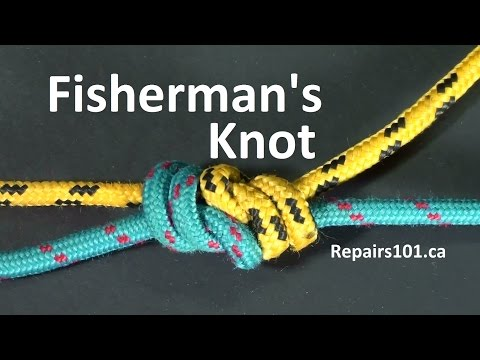 Fisherman's Knot & Double Fisherman's Knot