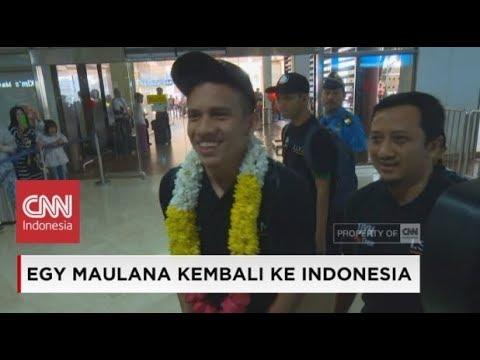 Egy Maulana Vikri Kembali ke Indonesia