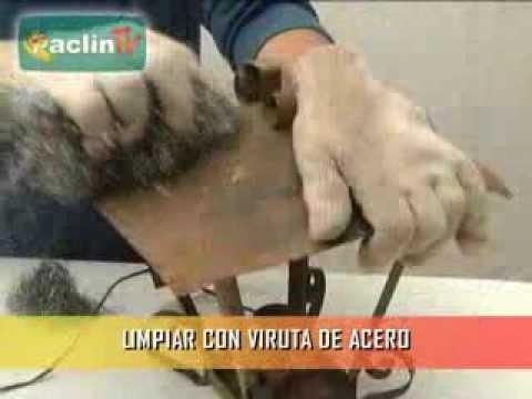 Paclin tv c mo quitar el xido de una superfricie con - Como quitar el oxido ...