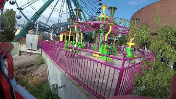 Finland 2018, Day 8 (Linnanmäki Amusement Park Helsinki, 4K 60fps)