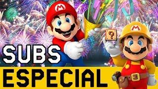 ESPECIAL Niveles de SUBS para Despedir el 2017 🎉🎊 | Super Mario Maker en Español - ZetaSSJ