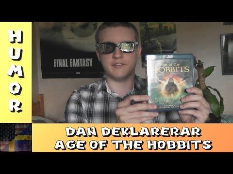 TDG Humor - Dan Deklarerar - Age of the Hobbits (Recension) (Subtitles)