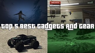 GTA Online Top 5 Best Gadgets And Gear