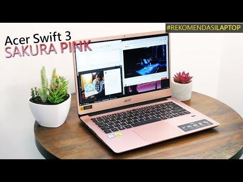 Acer Swift 3 Sakura Pink - Laptop 6Jtan Yang Cuma 1.5kg !!!!
