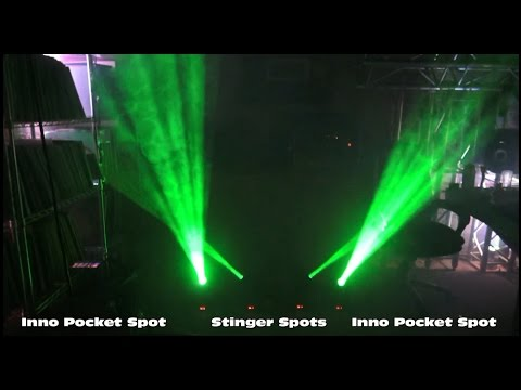 ADJ Stinger Spot vs Inno Pocket Spot - Differences + Master Slave Ideas