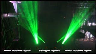ADJ Stinger Spot vs Inno Pocket Spot - Differences + Master Slave Ideas