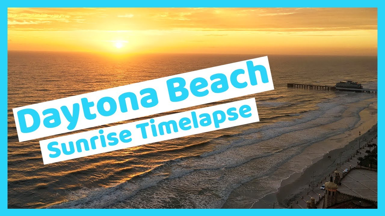 Sunrise Daytona Beach The Best Beaches In World