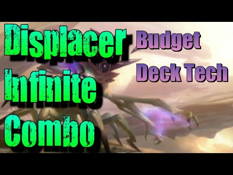 Mtg Deck Tech: Displacer Infinite Combo in Oath Standard!