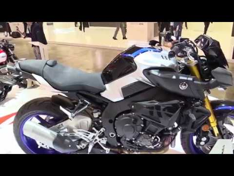 2017 Yamaha MT10 SP Features Special Edition Walkaround Review Look in HD