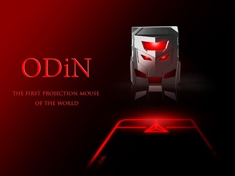 ODiN : World's first projection mouse