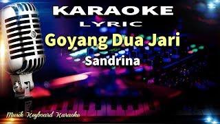 Gambar cover Sandrina - Goyang Dua Jari Karaoke Tanpa Vokal