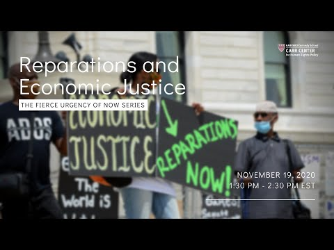 Reparations and Economic Justice on YouTube