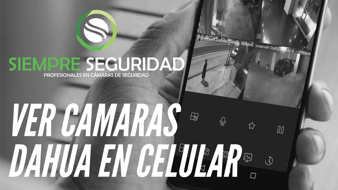 Configurar cámaras Dahua en celular (GDMSS Lite - P2P)