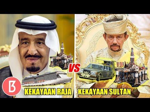 Lebih Tajir Yg Mana? Inilah Perbandingan Kekayaan Raja Salman Vs Sultan Brunei